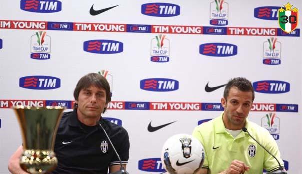 Antonio Conte & Alessandro Del Piero