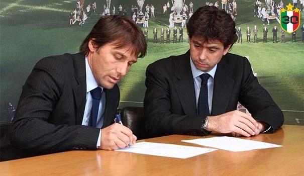 Antonio Conte & Andrea Agnelli