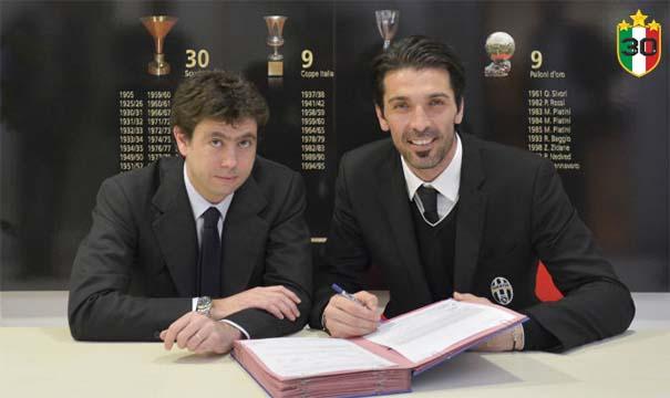 Andrea Agnelli & Gianluigi Buffon