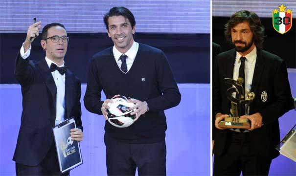 Gianluigi Buffon & Andrea Pirlo