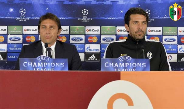 Antonio Conte & Gianluigi Buffon