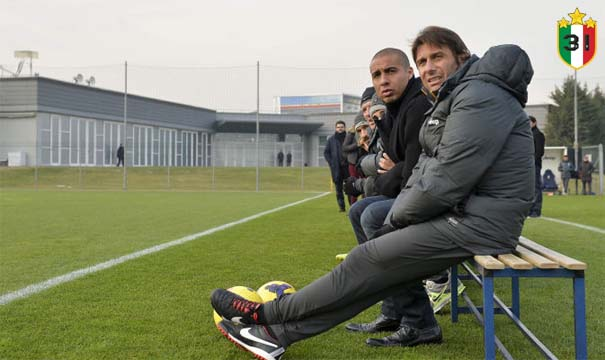 Antonio Conte & David Trezeguet